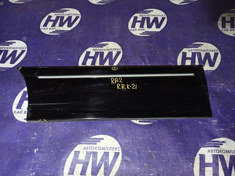 Накладка на дверь Honda Odyssey RA2 F22B задняя правая (б/у)