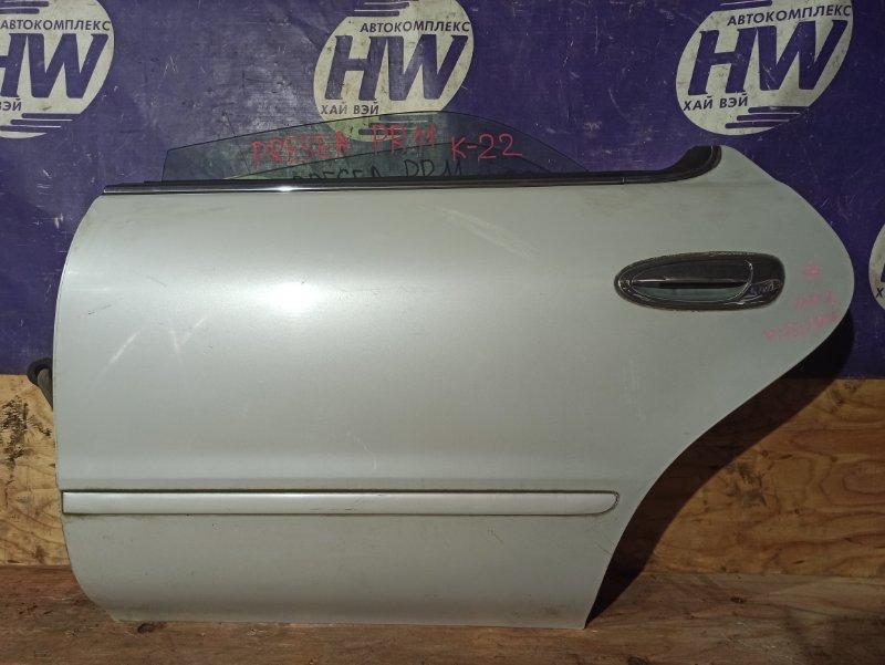 Дверь Nissan Presea PR11 SR18 задняя левая (б/у)