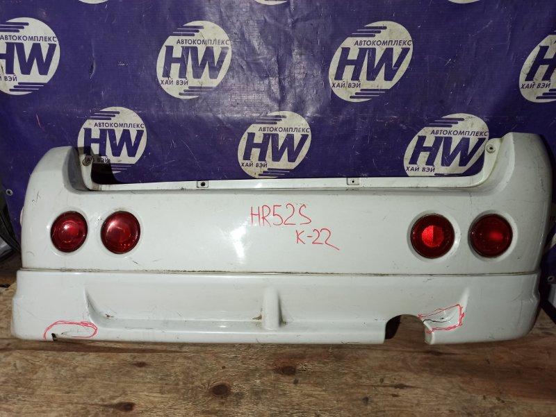 Бампер Suzuki Chevrolet Cruze HR52S M13A задний (б/у)