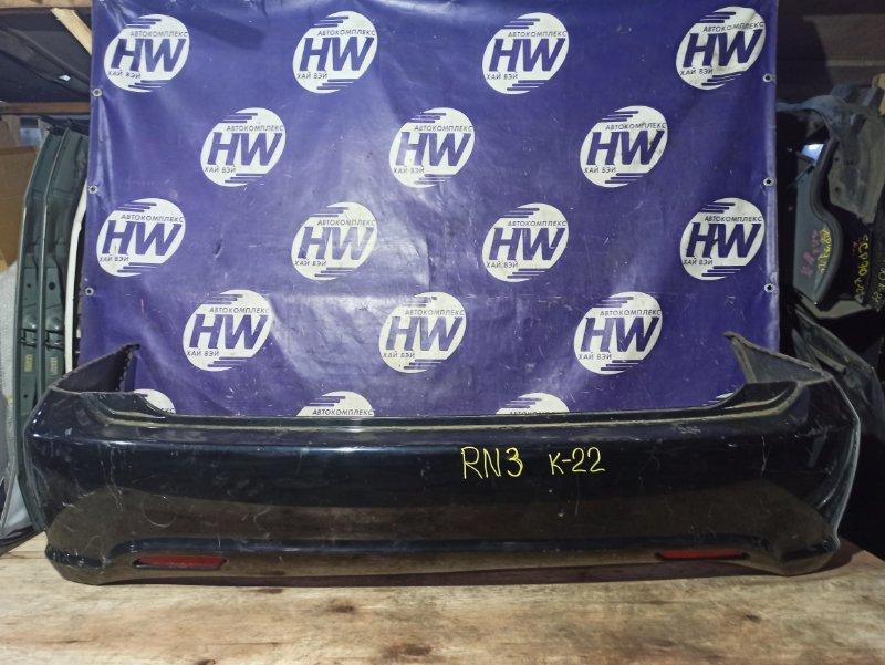Бампер Honda Stream RN3 K20A задний (б/у)