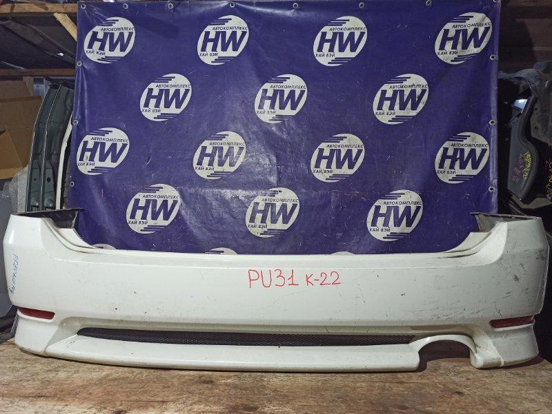 Бампер Nissan Presage PU31 VQ35 задний (б/у)