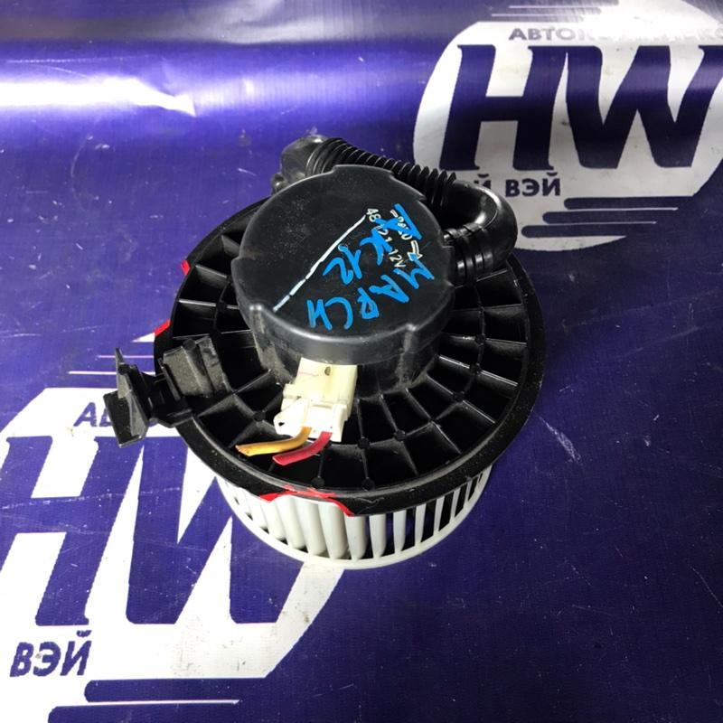 Мотор печки Nissan March AK12 CR12 (б/у)