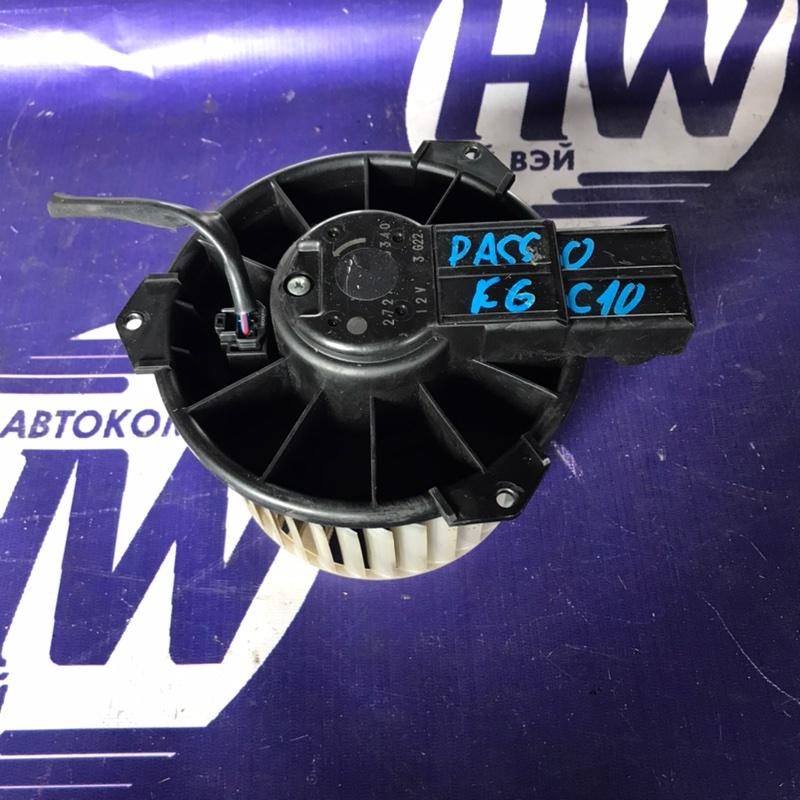 Мотор печки Toyota Passo KGC10 1KR (б/у)