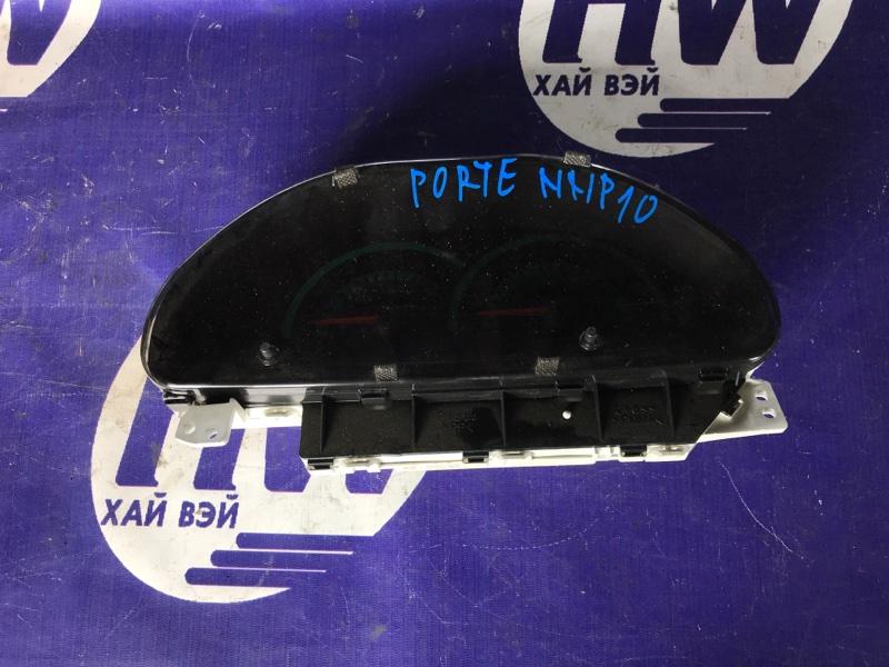 Панель приборов Toyota Porte NNP10 2NZ (б/у)