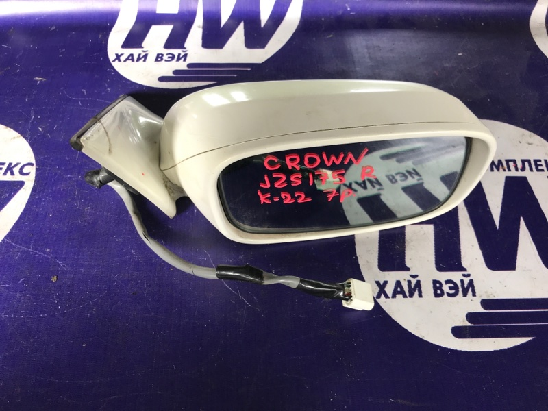 Зеркало Toyota Crown JZS175 2JZFSE правое (б/у)
