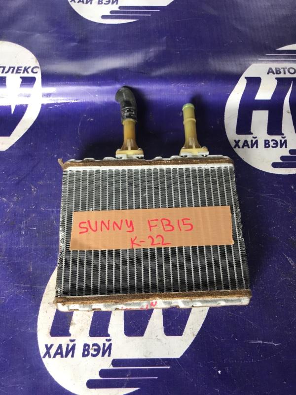 Радиатор печки Nissan Sunny FB15 QG15 (б/у)