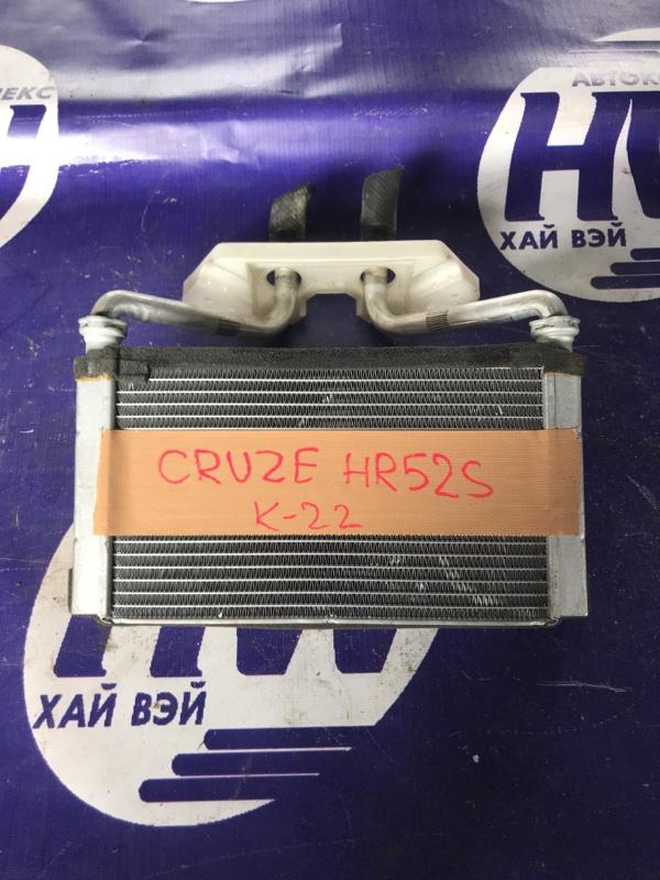 Радиатор печки Suzuki Chevrolet Cruze HR52S M13A (б/у)