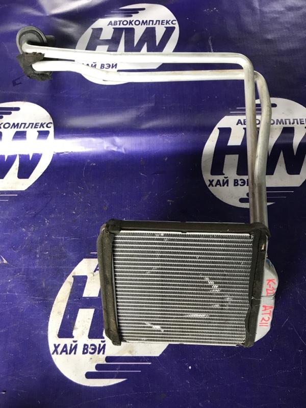 Радиатор печки Toyota Carina AT211 7A 1997 (б/у)
