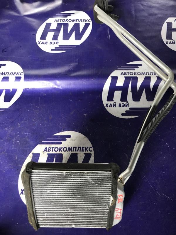 Радиатор печки Toyota Corona Premio AT211 7A 1999 (б/у)