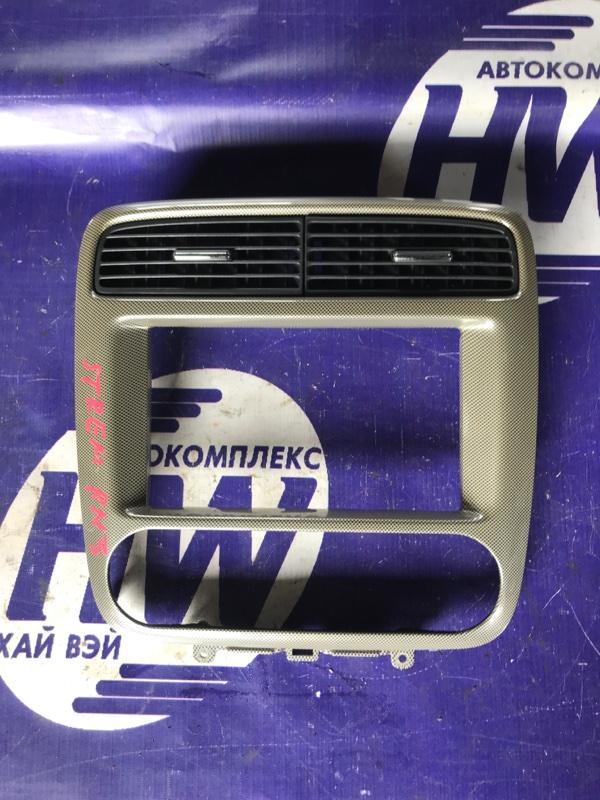 Консоль магнитофона Honda Stream RN3 K20A (б/у)