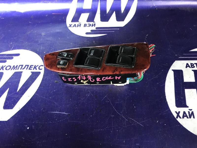 Блок упр. стеклоподъемниками Toyota Crown JZS175 2JZFSE передний правый (б/у)