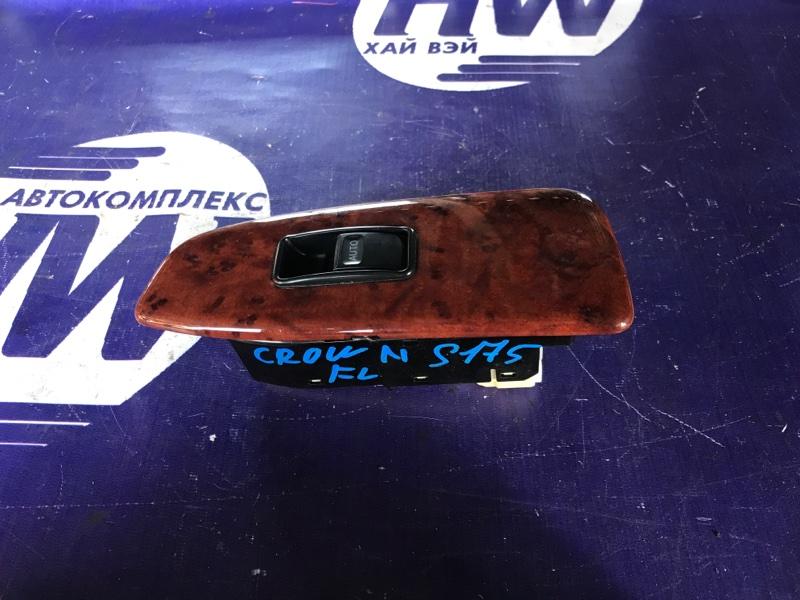 Блок упр. стеклоподъемниками Toyota Crown JZS175 2JZFSE передний левый (б/у)