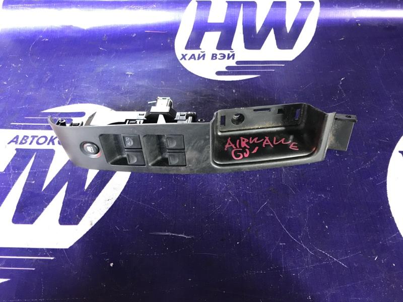 Блок упр. стеклоподъемниками Honda Airwave GJ1 L15A передний правый (б/у)