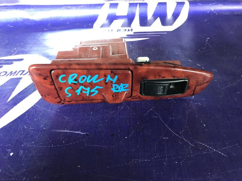 Блок упр. стеклоподъемниками Toyota Crown JZS175 2JZFSE задний правый (б/у)
