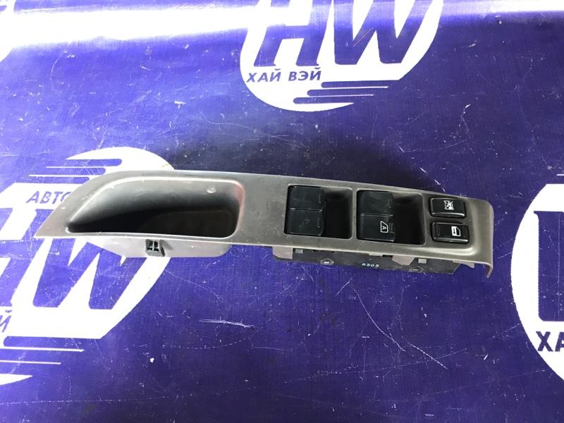 Блок упр. стеклоподъемниками Nissan March AK12 CR12 передний правый (б/у)