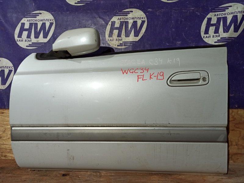 Дверь Nissan Stagea WGC34 RB25 передняя левая (б/у)