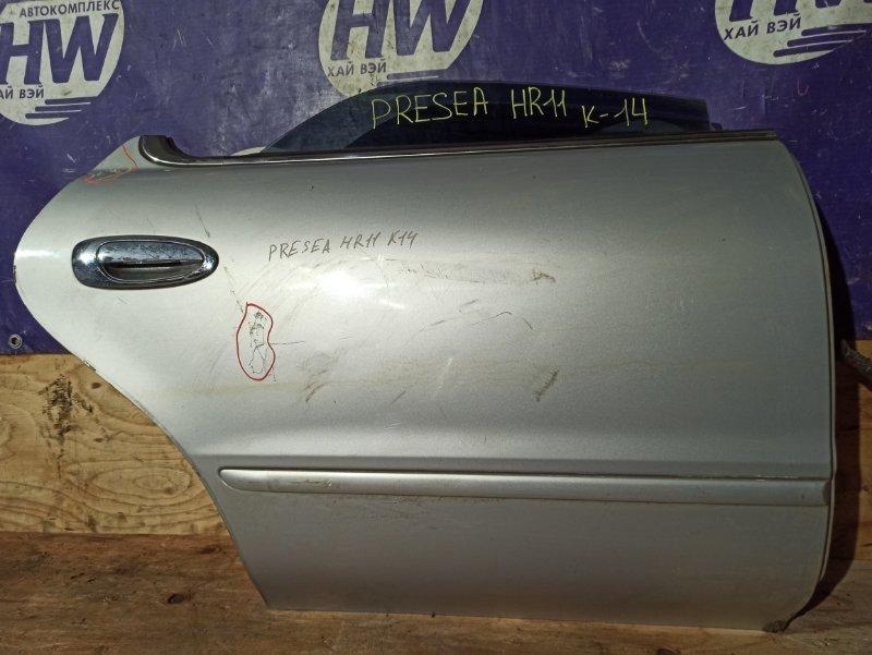 Дверь Nissan Presea HR11 SR20 задняя правая (б/у)