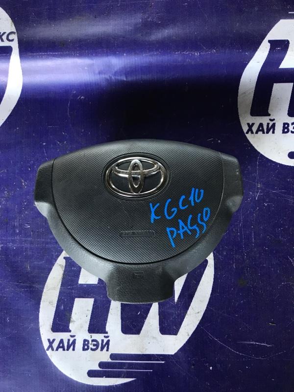 Airbag Toyota Passo KGC10 1KR правый (б/у)