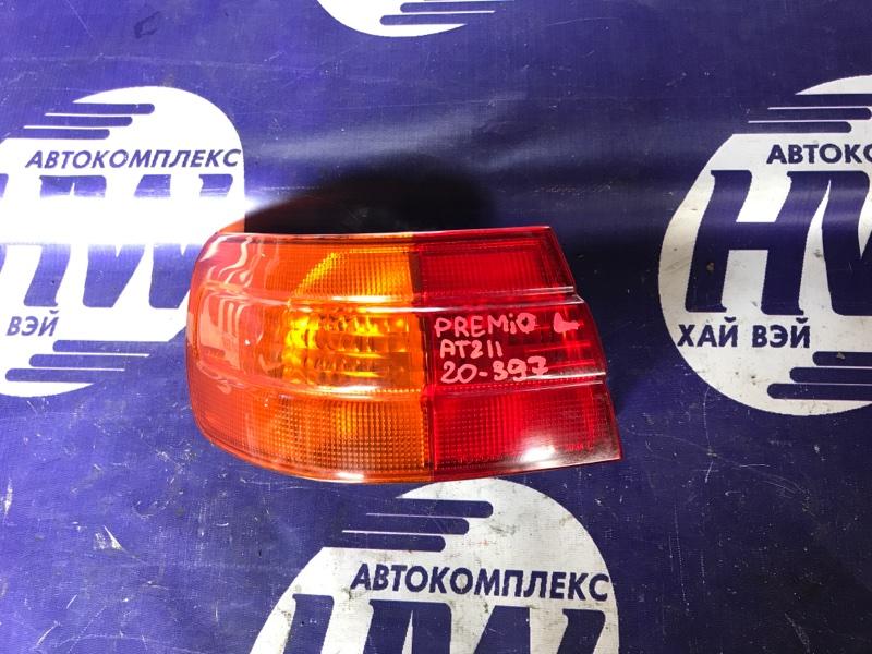 Стоп Toyota Corona Premio AT211 7A 2000 левый (б/у)