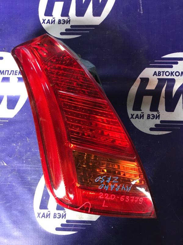 Стоп Nissan Murano TZ50 QR25 левый (б/у)