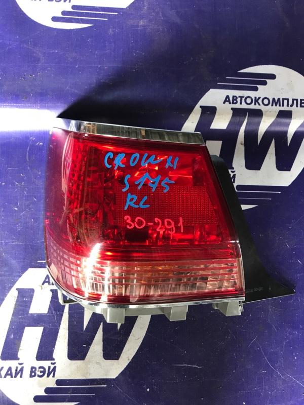 Стоп Toyota Crown JZS175 2JZFSE левый (б/у)