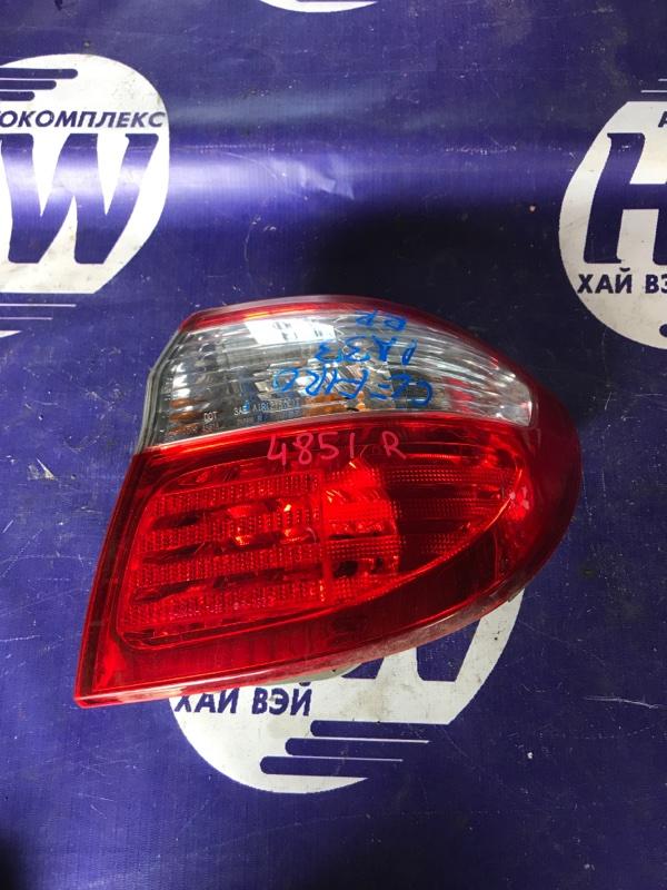 Стоп Nissan Cefiro PA33 VQ25 правый (б/у)