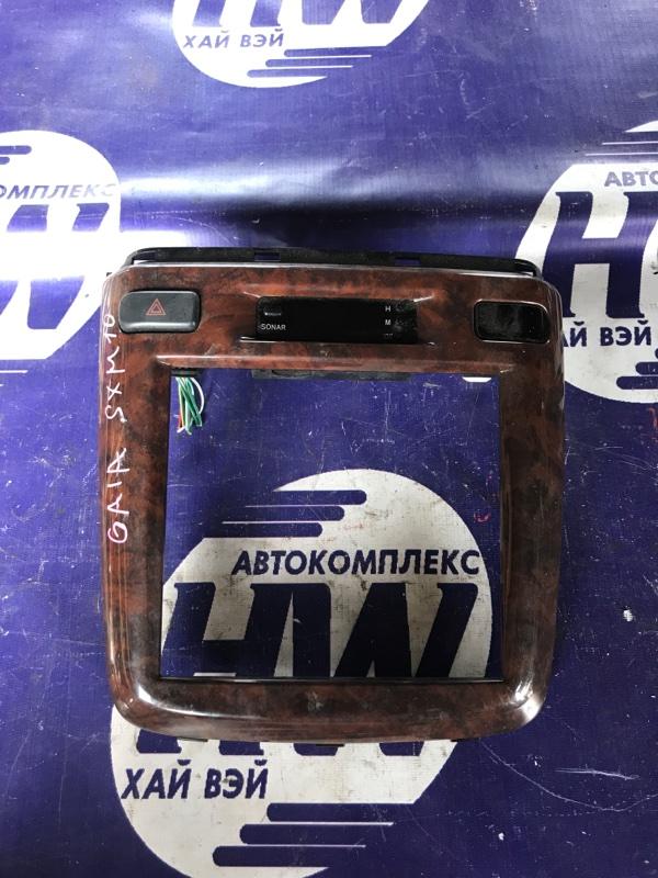Консоль магнитофона Toyota Gaia SXM10 3S (б/у)