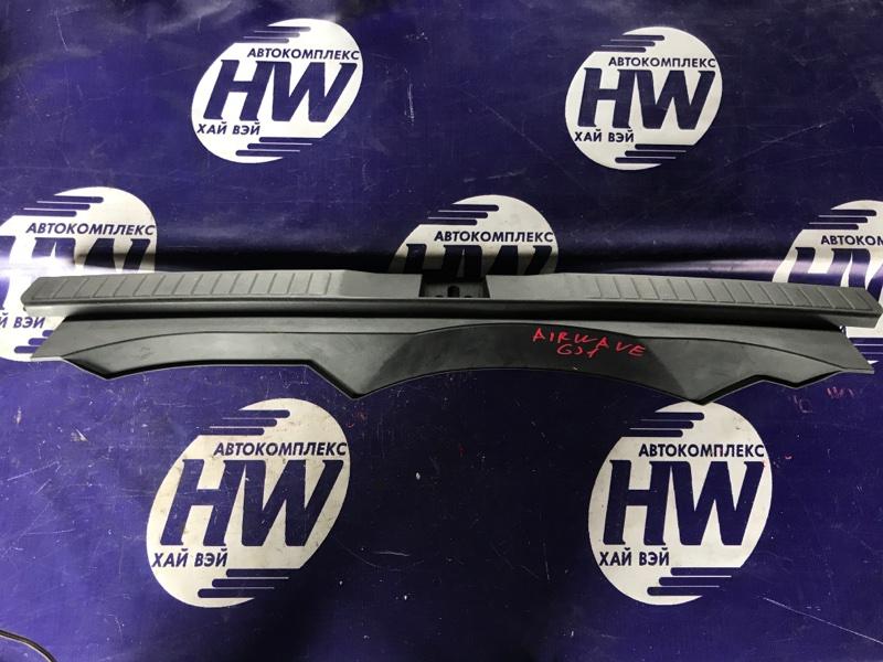 Накладка замка багажника Honda Airwave GJ1 L15A (б/у)
