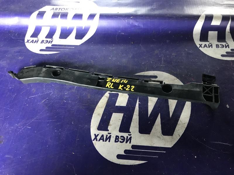 Крепление бампера Toyota Wish ZNE14 1ZZ 2006 заднее левое (б/у)