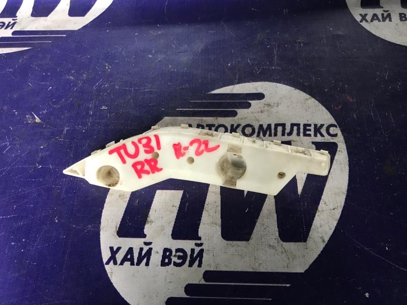 Крепление бампера Nissan Presage TU31 QR25DE заднее правое (б/у)