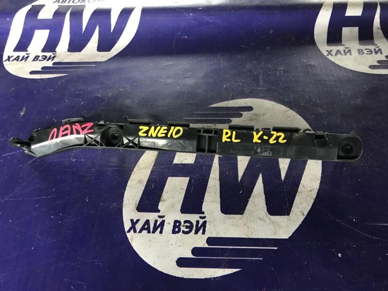 Крепление бампера Toyota Wish ZNE10 1ZZ 2003 заднее левое (б/у)