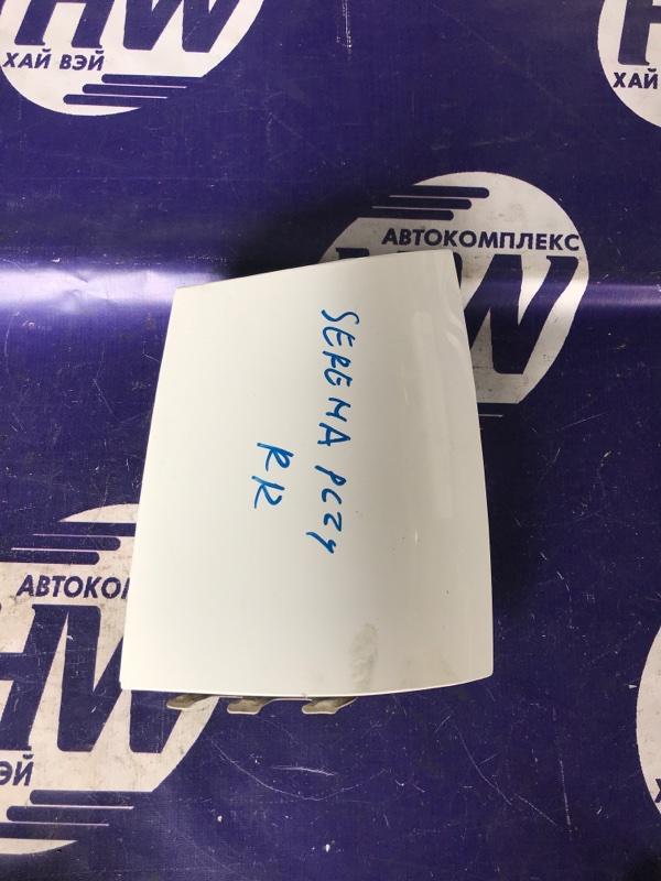 Планка под стоп Nissan Serena PC24 SR20DE задняя правая (б/у)