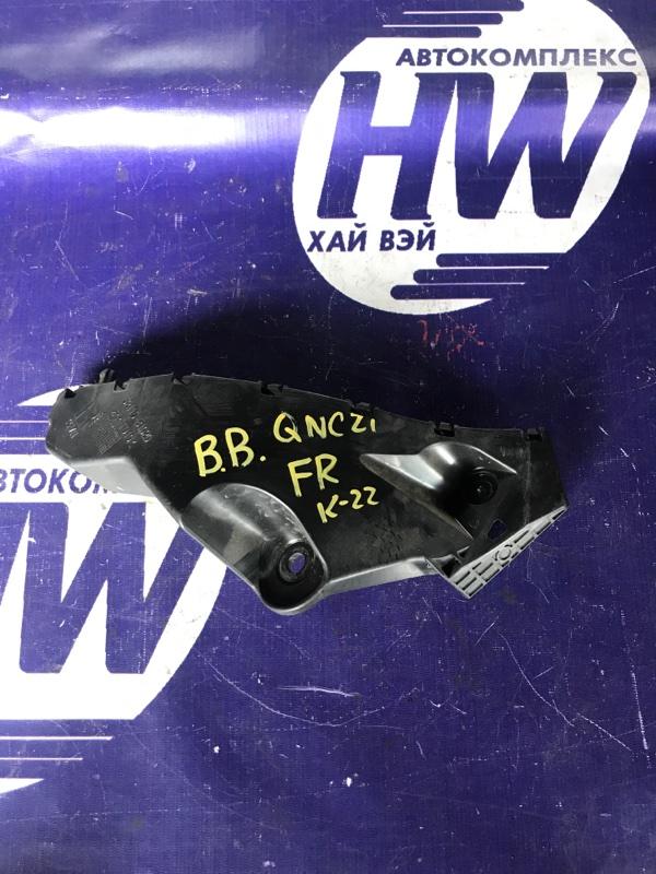 Крепление бампера Toyota Bb QNC21 3SZ переднее правое (б/у)