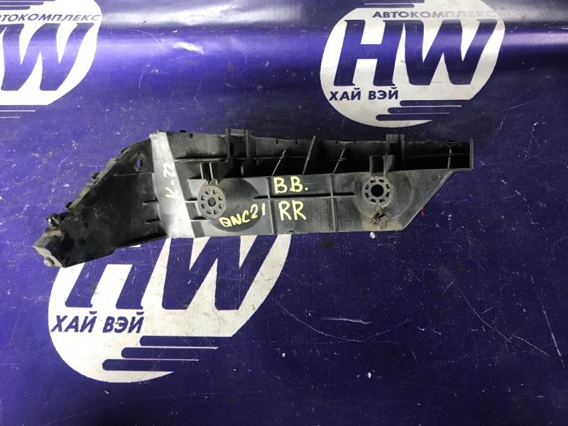 Крепление бампера Toyota Bb QNC21 3SZ заднее правое (б/у)