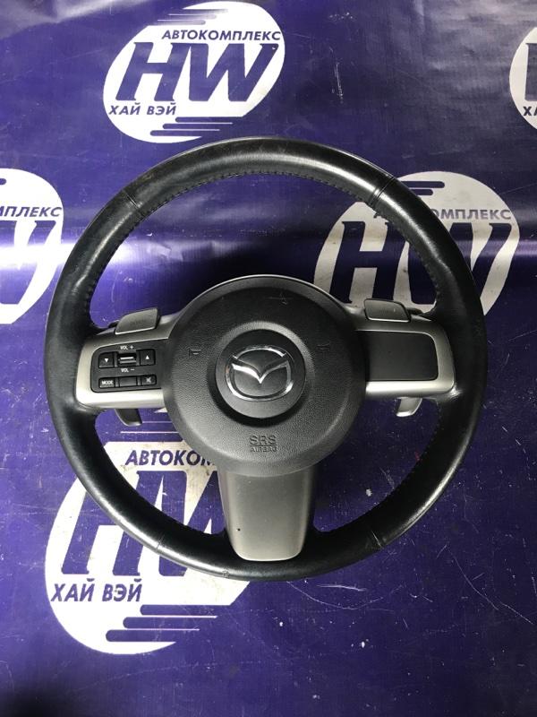 Руль Mazda Demio DE5FS ZY (б/у)