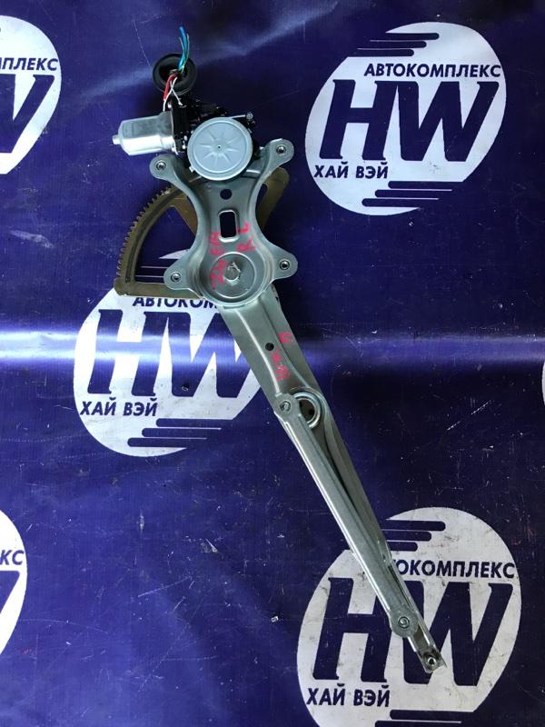 Стеклоподъемник Toyota Wish ZNE14 1ZZ 2006 задний левый (б/у)