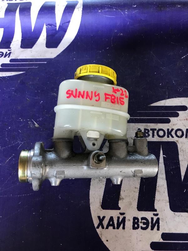 Главный тормозной цилиндр Nissan Sunny FB15 QG15 1999 (б/у)
