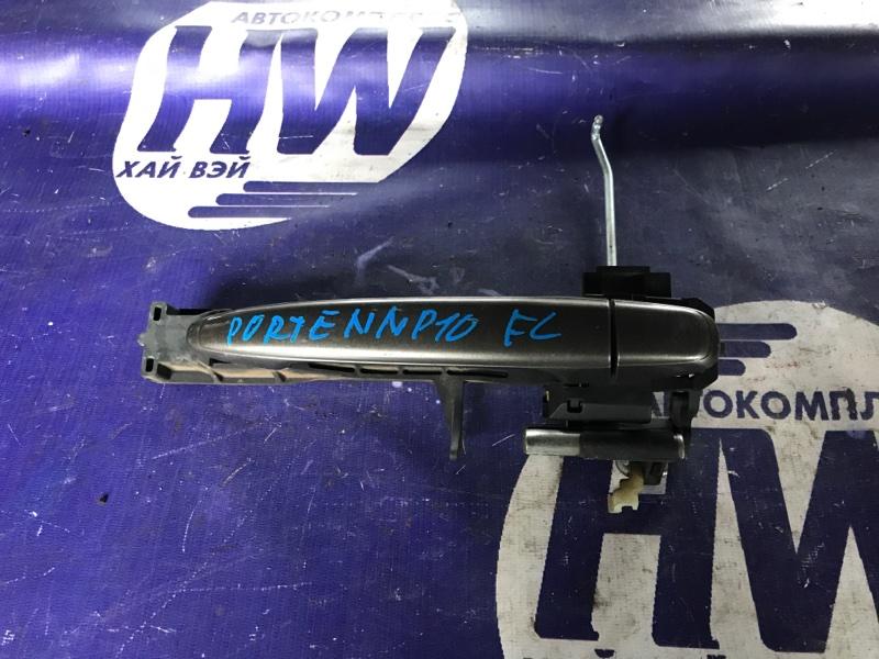 Ручка двери внешняя Toyota Porte NNP10 2NZ левая (б/у)