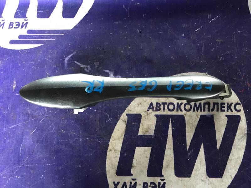 Ручка двери внешняя Honda Freed GB3 L15A задняя правая (б/у)