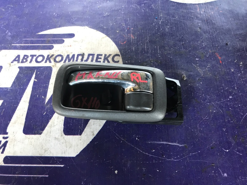 Ручка двери внутренняя Toyota Mark Ii GX110 1G задняя левая (б/у)