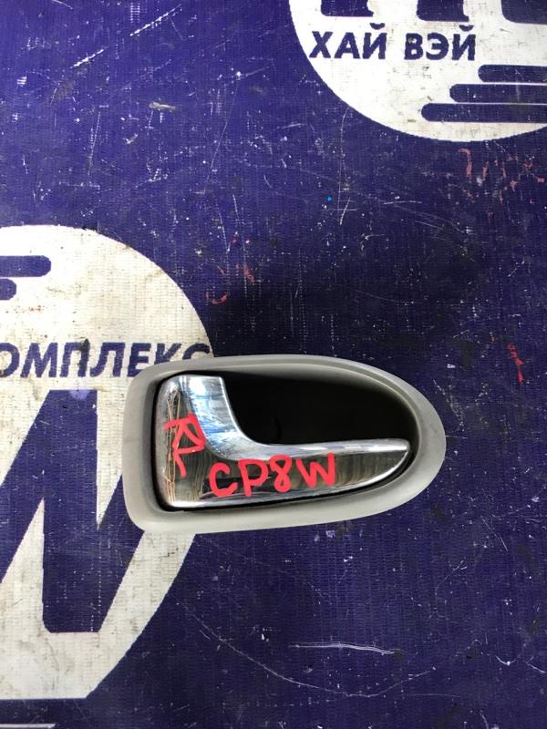 Ручка двери внутренняя Mazda Premacy CP8W FP задняя левая (б/у)