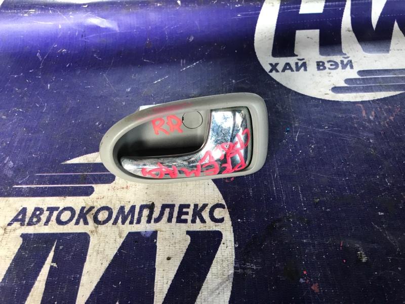 Ручка двери внутренняя Mazda Premacy CP8W FP задняя правая (б/у)