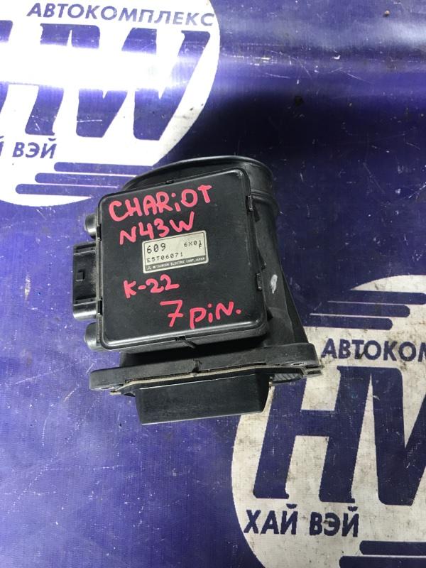 Датчик расхода воздуха Mitsubishi Chariot N43W 4G63T (б/у)