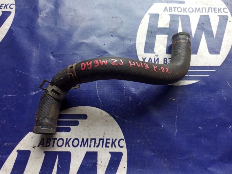 Патрубок радиатора Mazda Demio DY3W ZJ нижний (б/у)