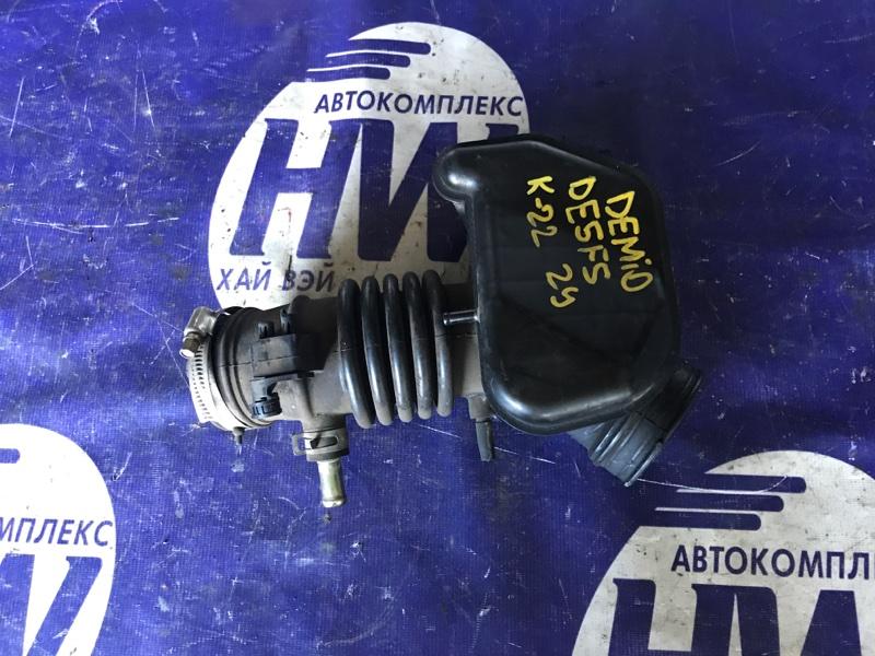 Патрубок воздушного фильтра Mazda Demio DE5FS ZY (б/у)