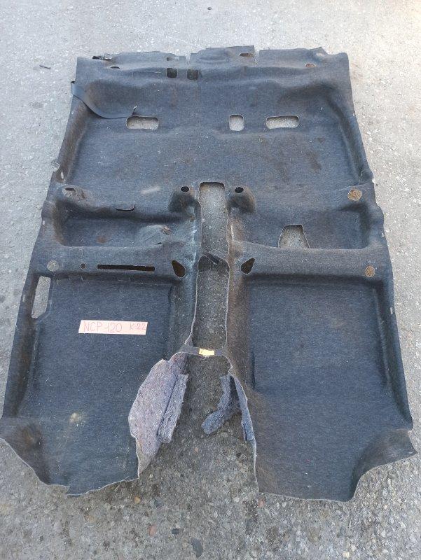 Ковер пола Toyota Ractis NCP120 1NZ (б/у)