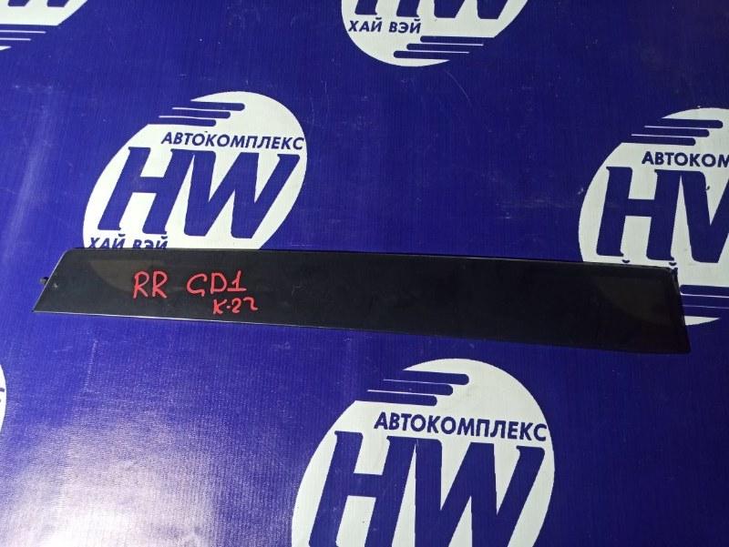 Ветровик Honda Fit GD1 L13A задний правый (б/у)