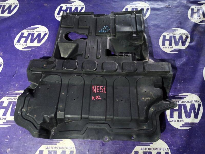 Защита двигателя Nissan Elgrand NE51 VQ35 (б/у)