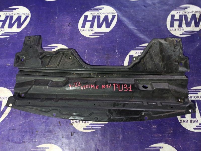 Защита двигателя Nissan Presage PU31 VQ35 (б/у)