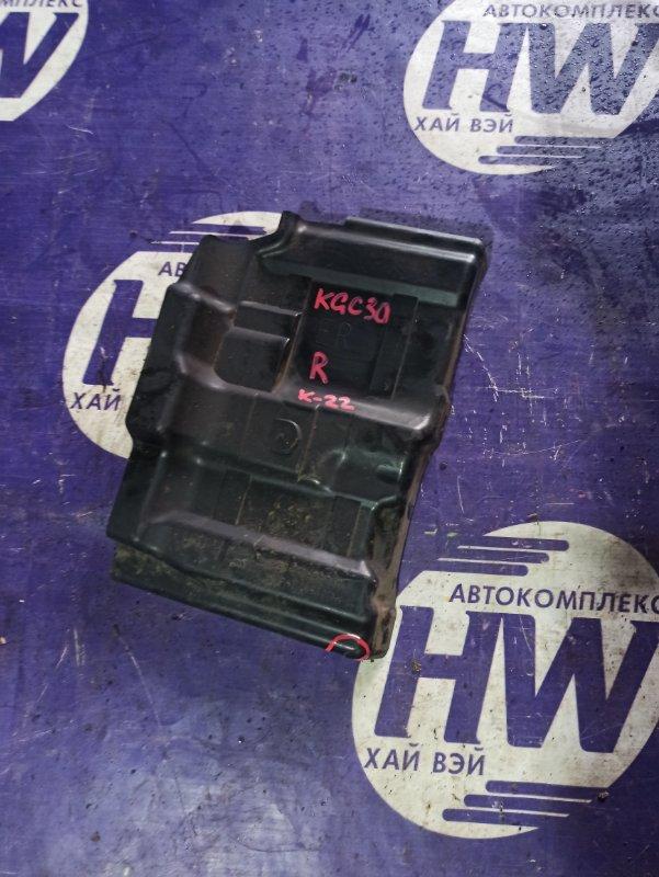 Защита двигателя Toyota Passo KGC30 1KR правая (б/у)